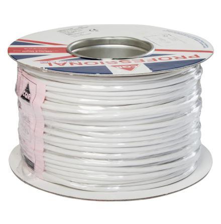 Kabel FKKB 8x0,18 vit Minsta kvantitet 100 m