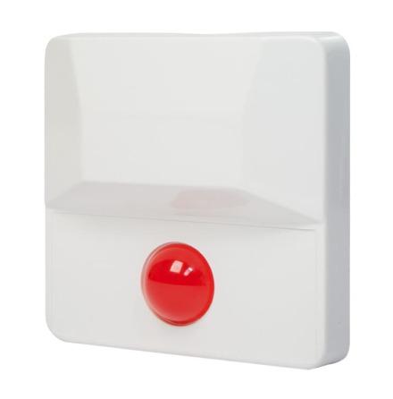 Blinkdiod röd 20 mm i kapsling