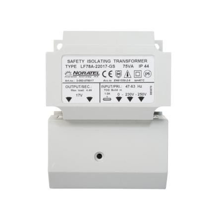 Transformator 17 VAC/75 VA