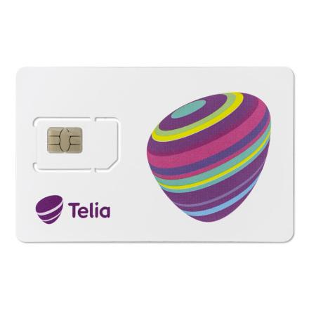 SIM-kort Addsecure kort (kostnad för datatrafik tillkommer)