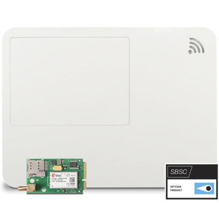 Centralapparat lares 4.0 WLS 96 inbyggd 3G-modul vit