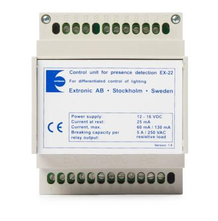 Logikmodul EX-22 med DSI-protokoll