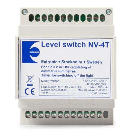 Nivåväljare NV-4T med timer