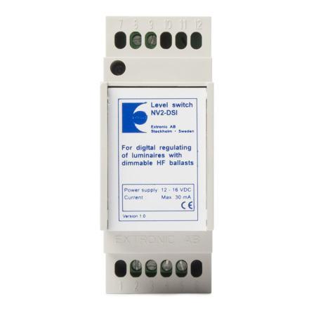 Nivåväljare NV-2 DSI med DSI-protokoll
