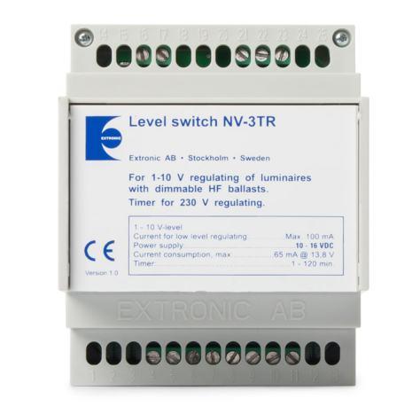Nivåväljare NV-3TR med timer och softdimmer