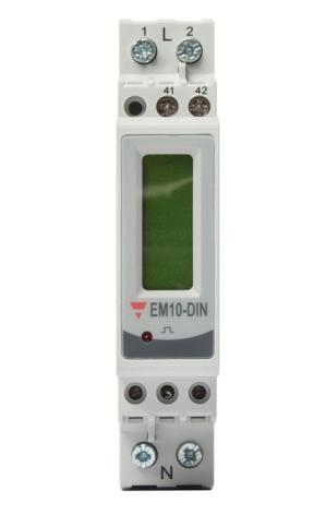 Energimätare 1-fas EM10