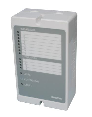 Driftlarmsändare RS-120DL, 8-ingångar/4-utgångar