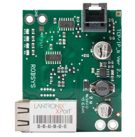 TCP/IP modul plugg-on med RJ45 kontakt