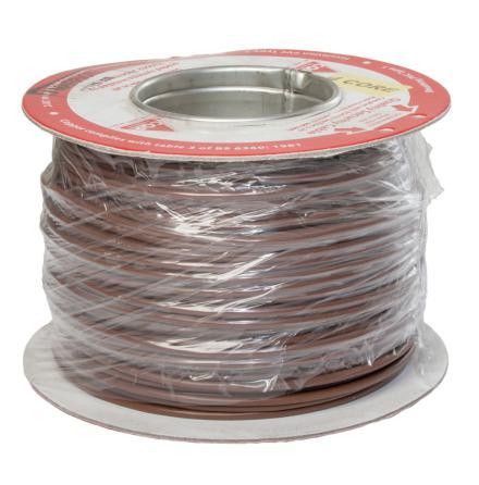 Kabel FKKB 4x0,18 brun Minsta kvantitet 100 m